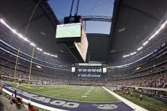 AT&T Stadium in Arlington, Texas.