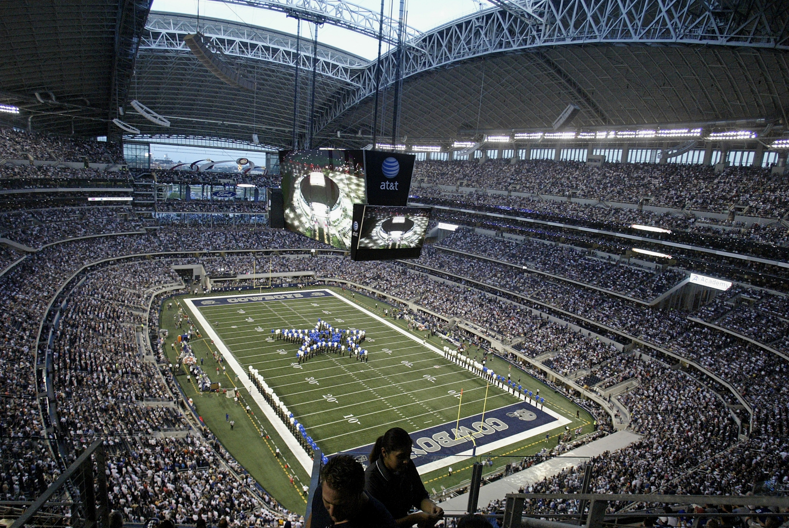 AT&T Stadium in Arlington, Texas.